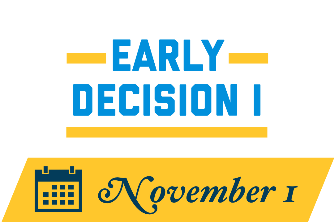 Early Decision 1: November 1