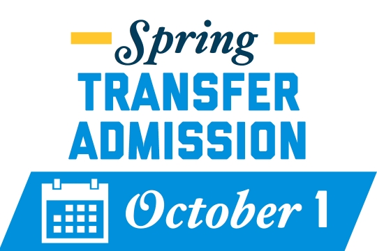 Spring Transfer Deadline: October 1