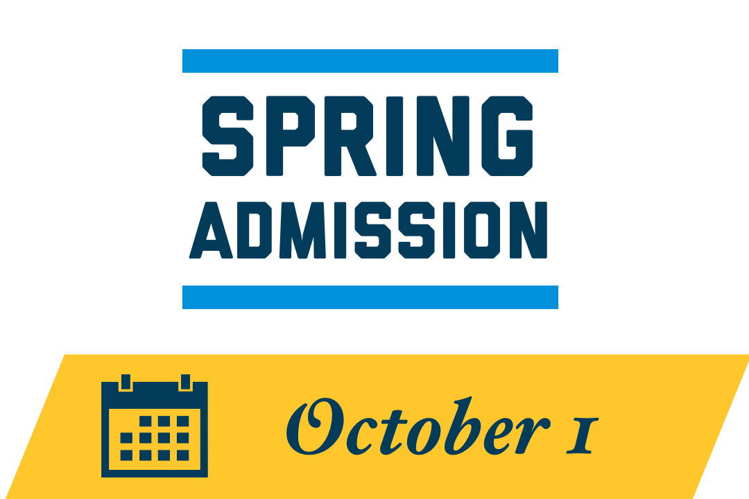 Spring First-Year Admission