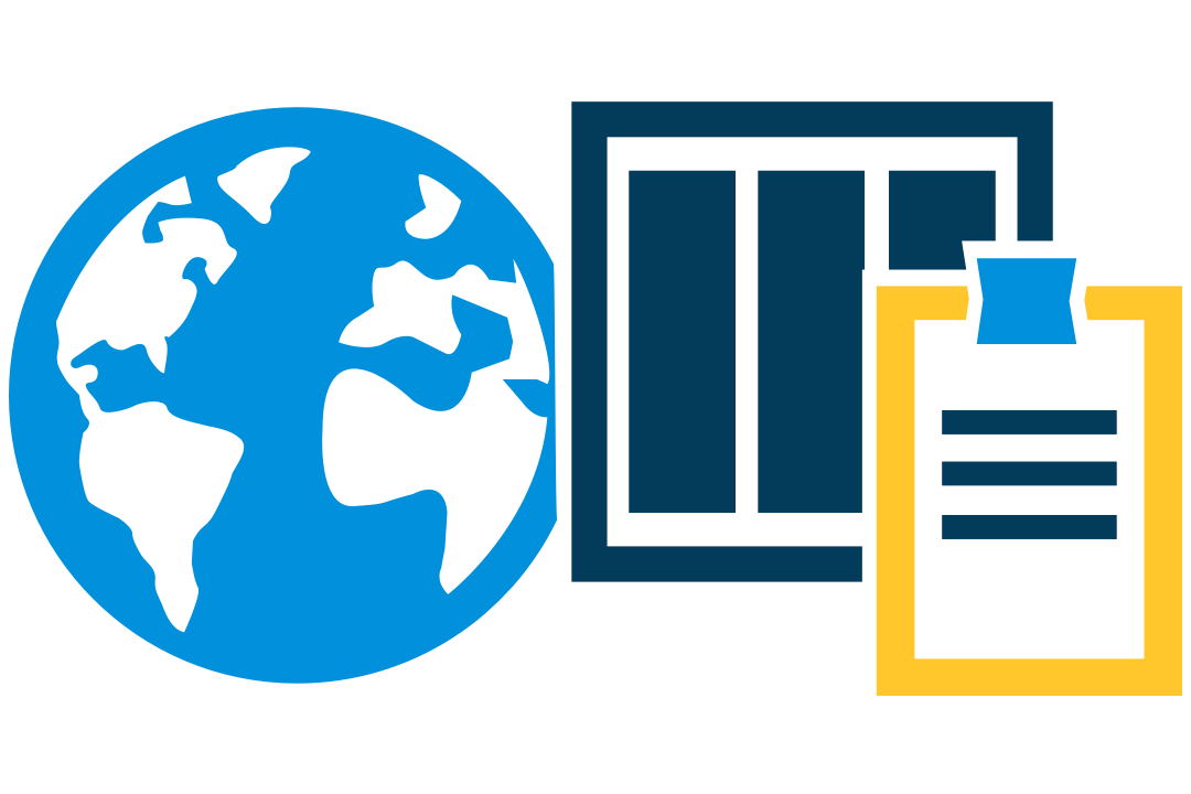 icons that represent credentials listed by country