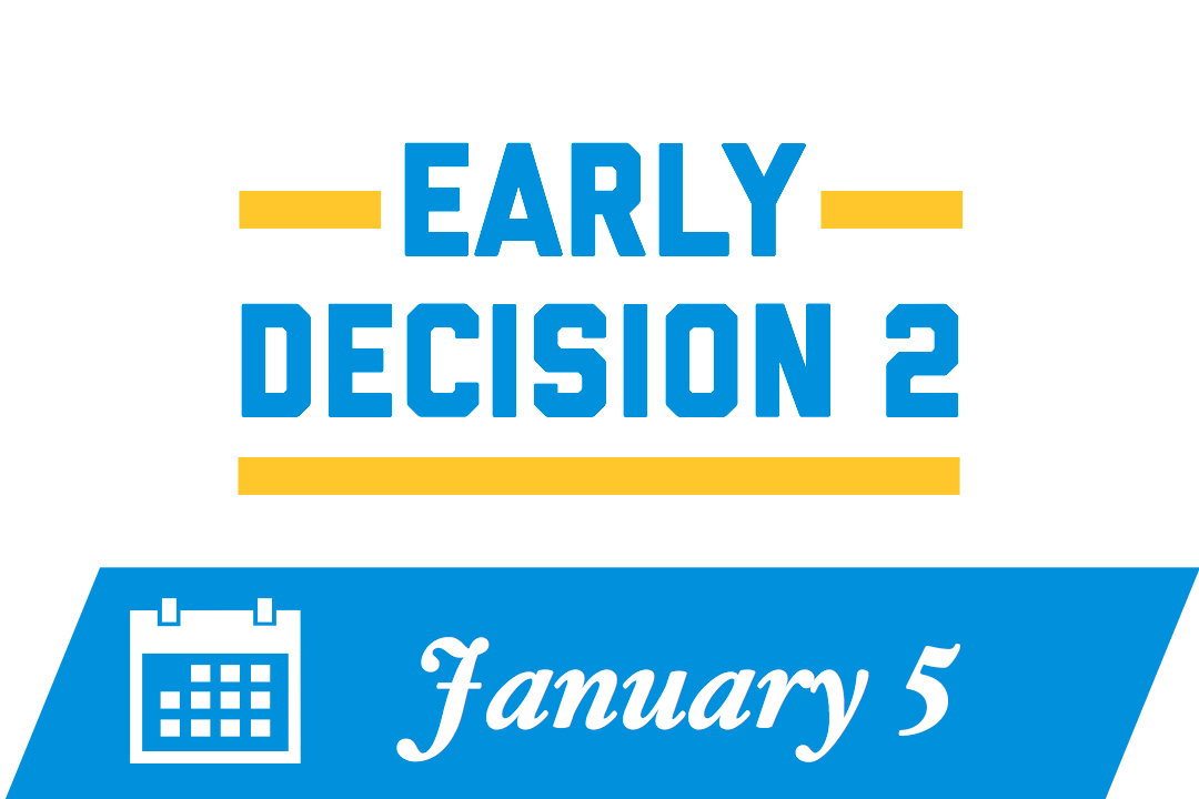 Early Decision 2: January 5