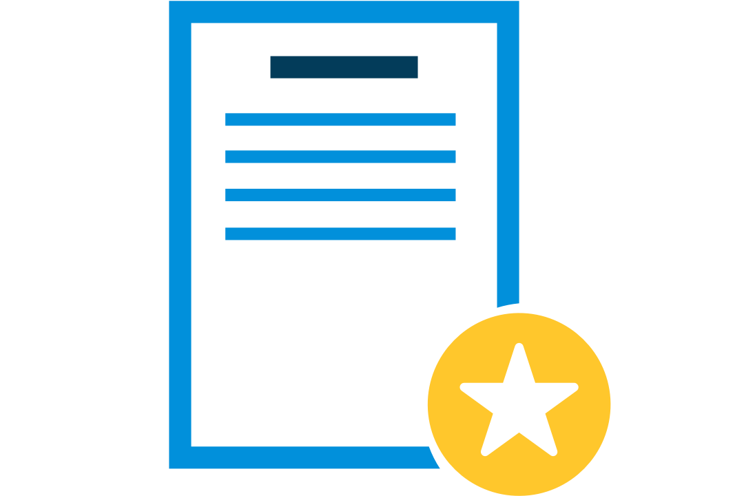 icon representing an English proficiency test