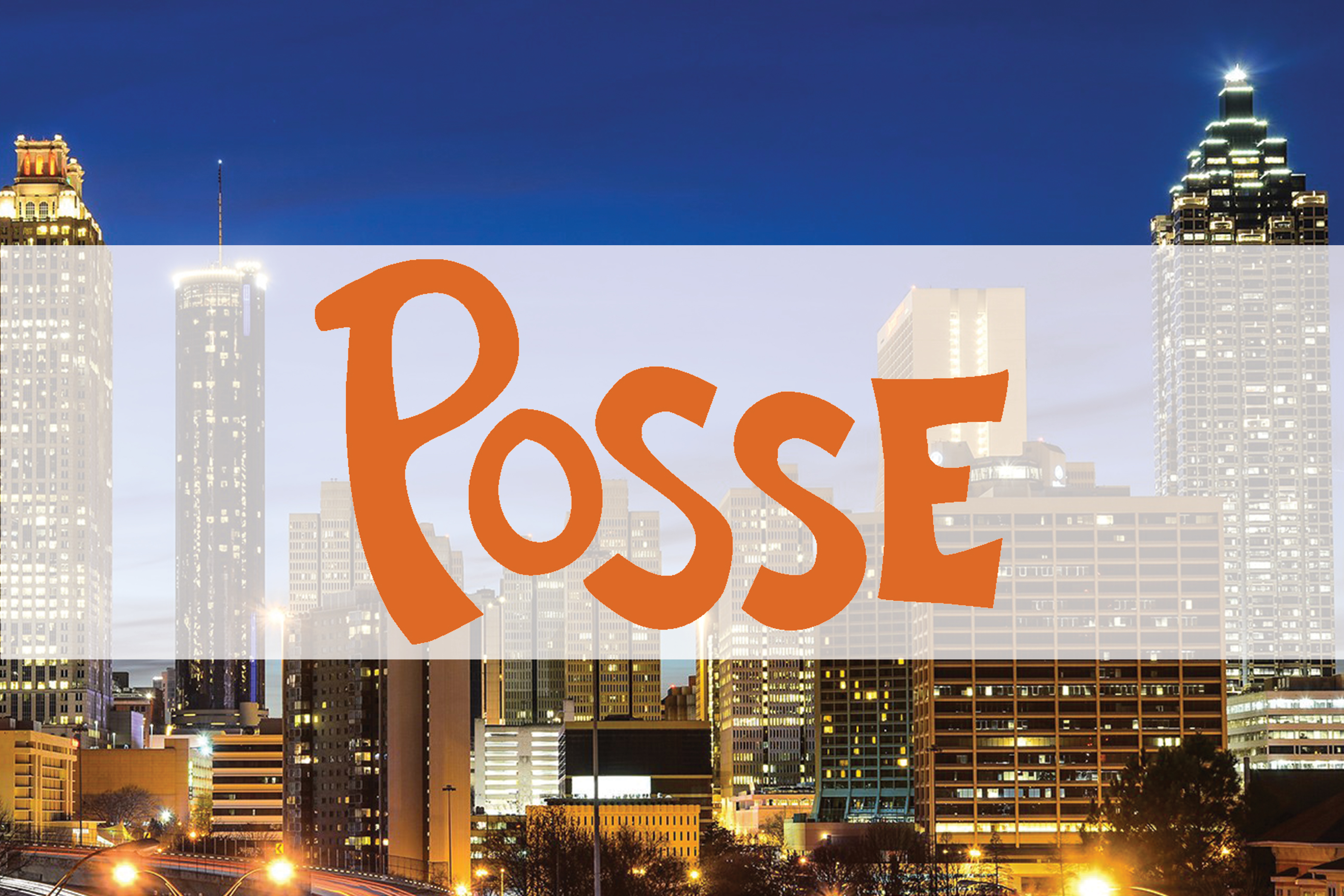 The Posse Foundation; view of Atlanta streetscape