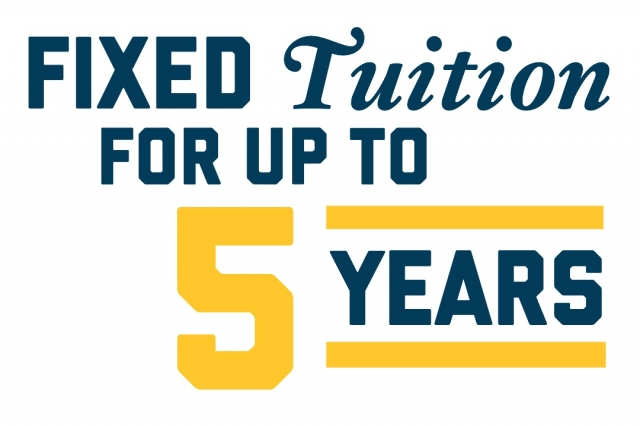 Fixed Tuition for Up to 5 Years