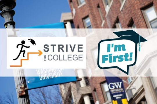 Strive for College / I'm First